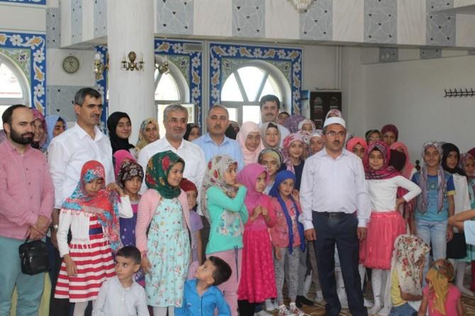 Van'da Yaz Kur'an kursu kapanış programı yapıldı