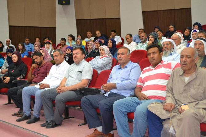 """Viranşehir'de """"Diyabet Eğitimi"""" verildi"""