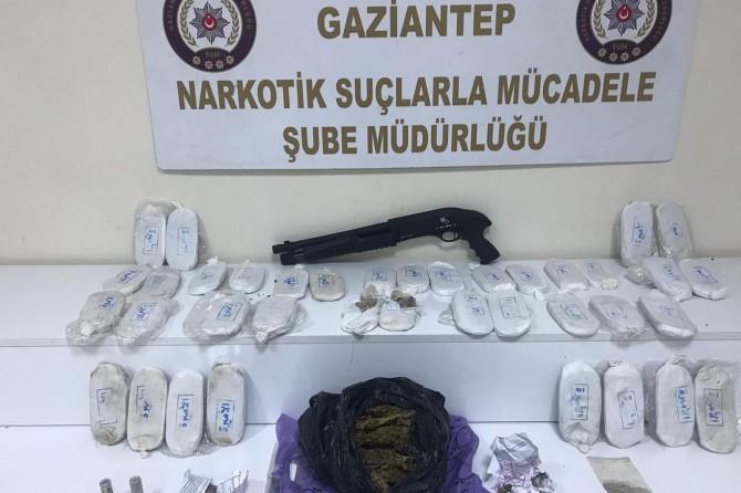 Uyuşturucu operasyonunda 7 tutuklama