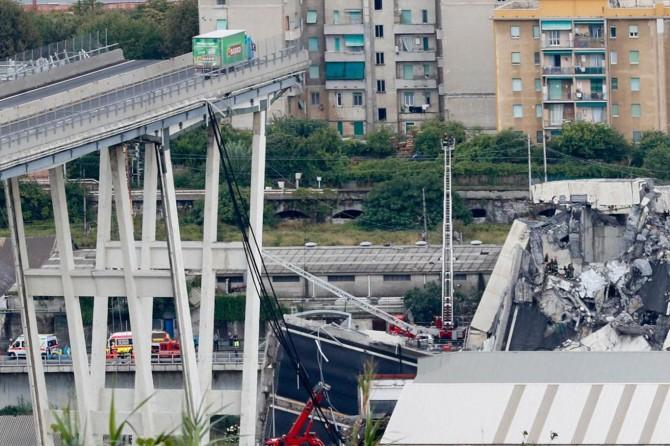İtalya'daki köprü çökmesinde ölenlerin sayısı 38'e yükseldi