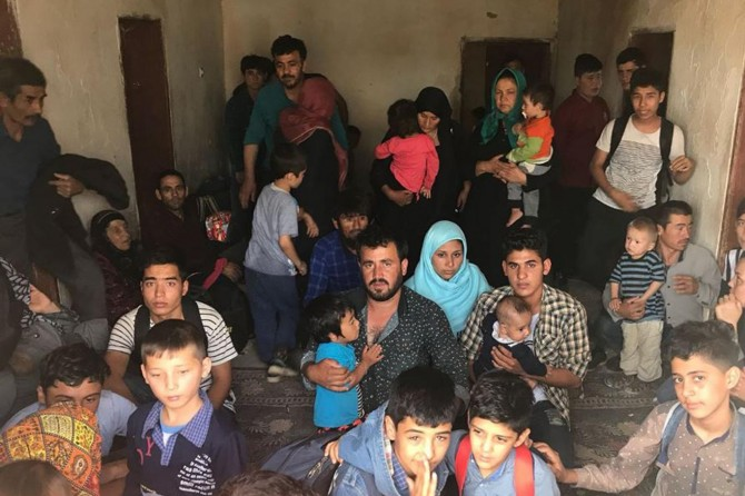 299 yabancı uyruklu kaçak göçmen yakalandı
