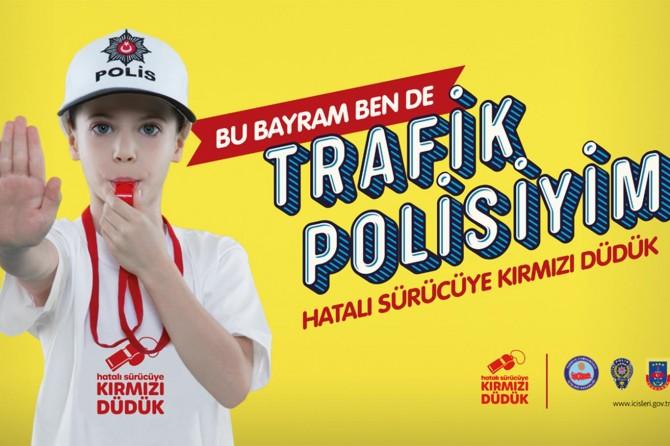 Bayram öncesi vatandaşlar trafik kazalarına karşı bilgilendirildi