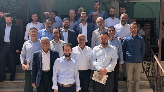 Diyarbakır Bismil'de müftülük personeli kurban bağışında bulundu
