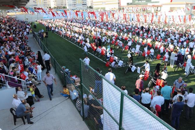 Gaziantep'te Kur'an bülbülleri ödüllendirildi