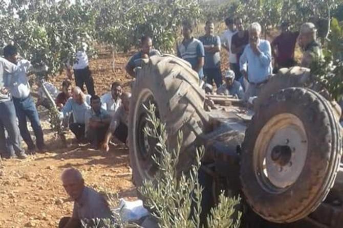 Şanlıurfa Suruç'ta traktörün altında kalan adam hayatını kaybetti