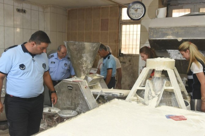 Mardin'de zabıta ekipleri bayram öncesi denetimlerini sıklaştırdı