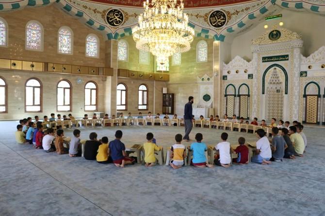 Yaz Kur'an kursu bizim için çok verimli geçti