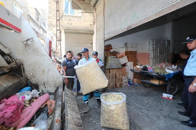 Gaziantep'te 900 kilo kullanım tarihi geçmiş beyaz et ele geçirildi