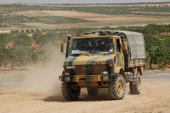 Gaziantep Karkamış'ta özel güvenlik bölgesi uygulaması