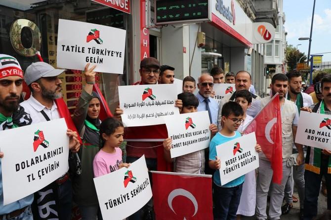 Türkiye'deki Suriyeli iş adamlarından Türk lirasına destek