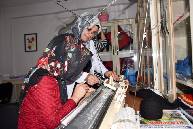 Van'da Maya Kadın Yaşam Merkezine büyük ilgi