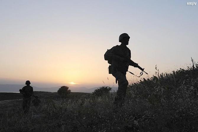 Cudi Dağı'nda 5 PKK'li öldürüldü