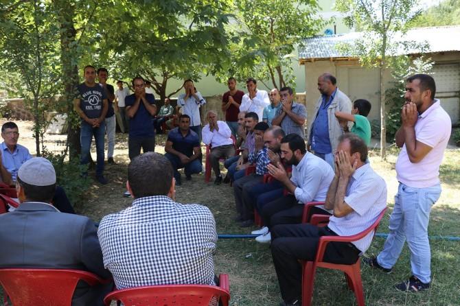 Erzincan Tercan'da silahlı saldırıda hayatını kaybeden müftü vekili defnedildi