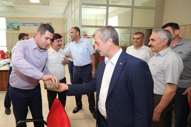 Gaziantep Şahinbey Belediyesinde bayramlaşma