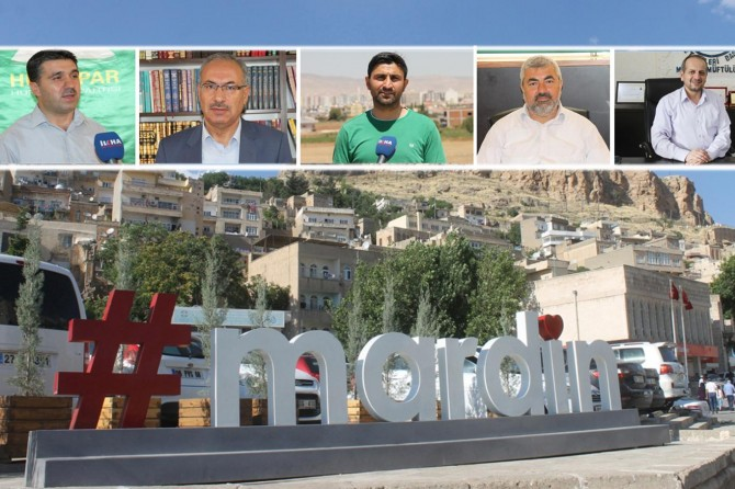 Mardinlilerden 4 dilde bayram mesajı