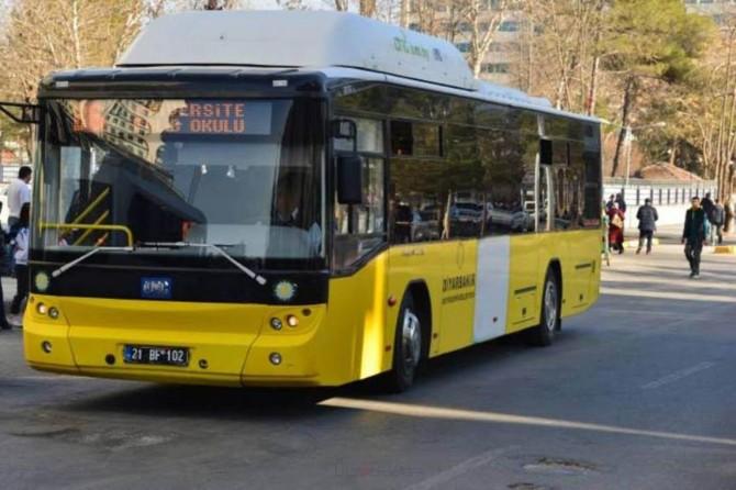 Diyarbakır'da toplu ulaşım bayramda ücretsiz