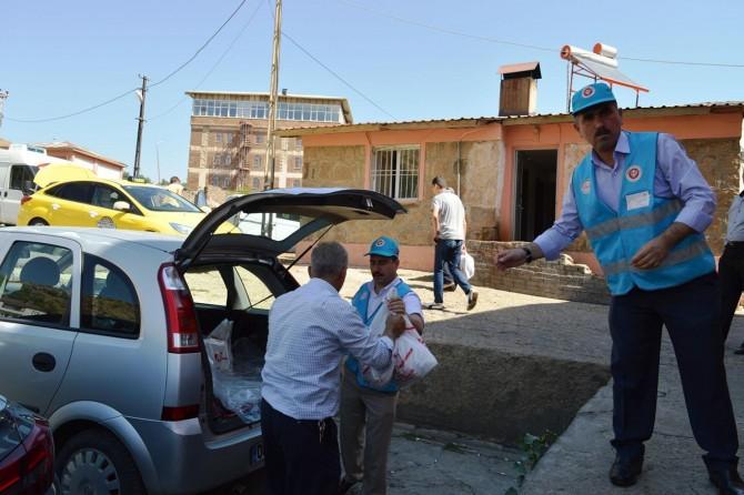 Diyanet Vakfı Bitlis'te kurban kesti