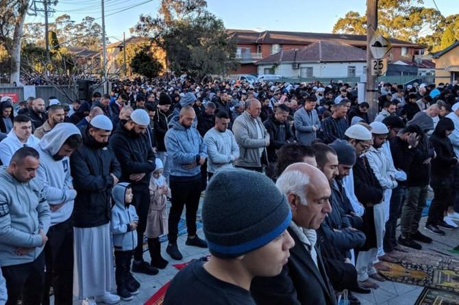 Avustralya'da on binlerce Müslüman yağmur duasına çıktı
