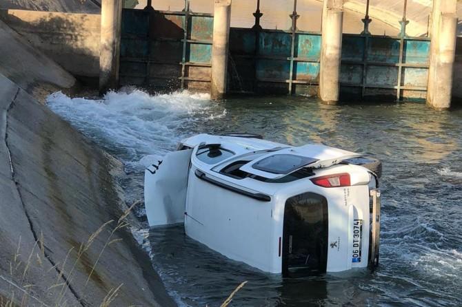 Batman–Kozluk Karayolu Üçyol Mevkiinde kamyonet su kanalına düştü: 5 yaralı