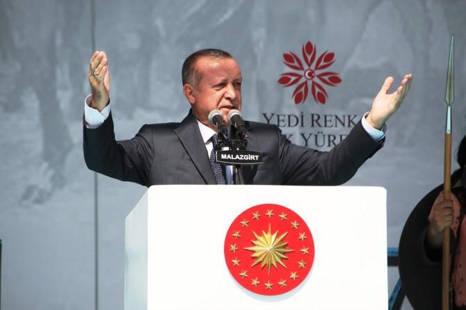 Cumhurbaşkanı Erdoğan Malazgirt etkinliklerine katılıyor