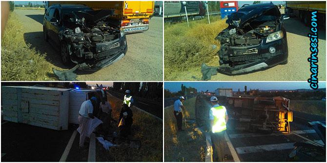 Çınarlı hemşerilemiz Aksaray'da kaza geçirdi