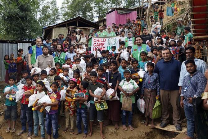 İHH'dan yüzbinlerce Arakanlıya yardım