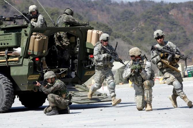 ABD Suriye'nin güneyinde askeri tatbikata başladı