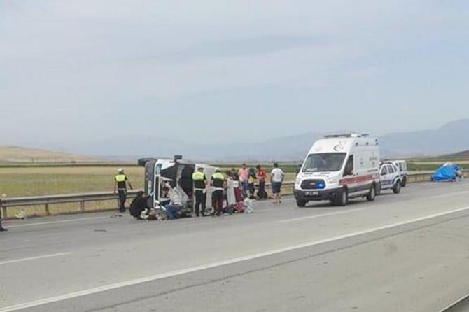 Gaziantep'te iki ayrı kaza: 10 yaralı