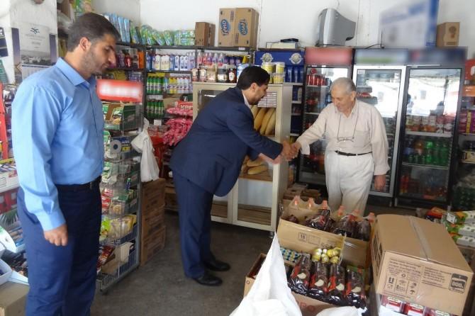 HÜDA PAR Eskişehir'de esnaf ziyaretlerini sürdürüyor