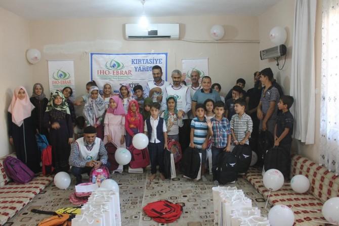 IHO-EBRAR'dan Diyarbakır'da yetim öğrencilere kırtasiye yardımı
