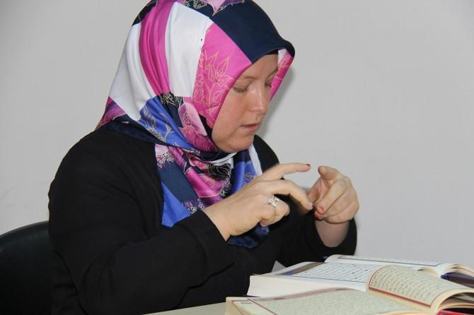Diyarbakır'da işitme engelliler Kur'an yarışmasında ter döktü
