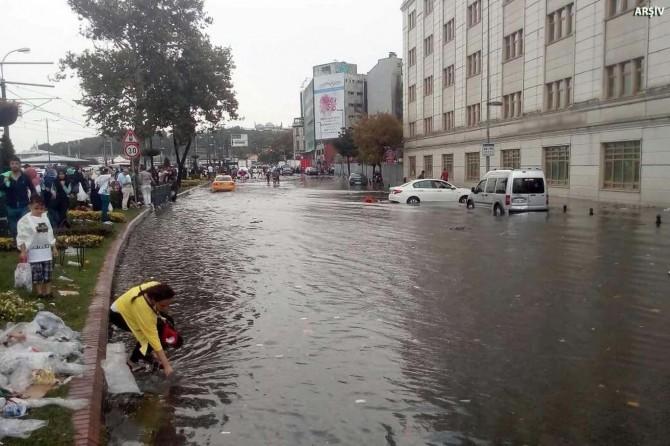 Meteorolojiden 5 il için sel uyarısı
