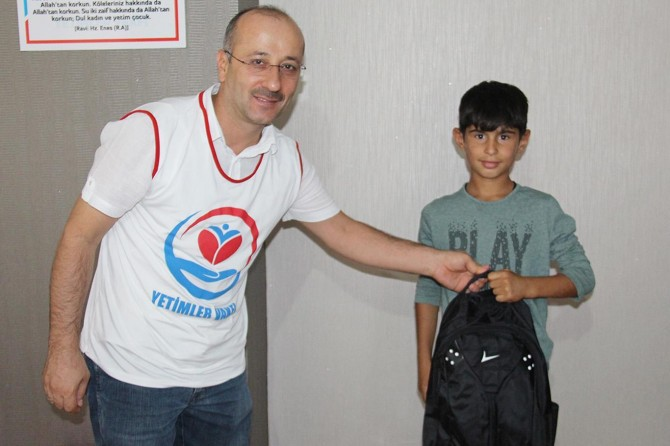 Orphan Foundation provides stationary assistance to students
