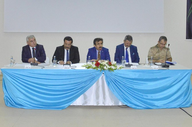 Diyarbakır'da yeni eğitim yılı için güvenlik toplantısı yapıldı