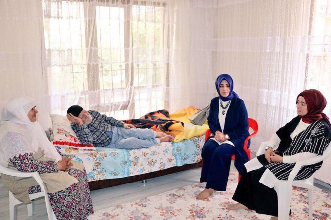 Barakazi ve Değişman'dan ev ziyaretleri