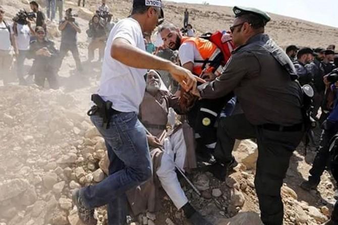 İşgal çetesi yıkıma karşı direnenlere saldırdı 3 kişiyi tutukladı