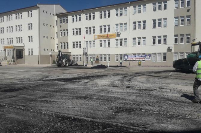 Gaziantep'teki okullarda temizlik yapıldı