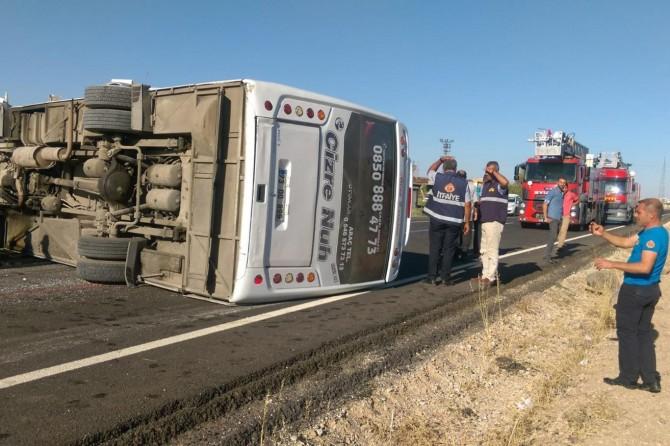 İpek Yolu'nda trafik kazası: 17 yaralı