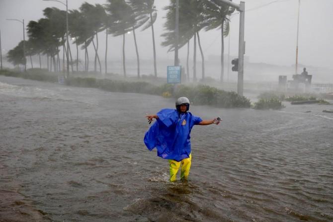 Filipinler'de Mangkhut Tayfunu: 19 ölü
