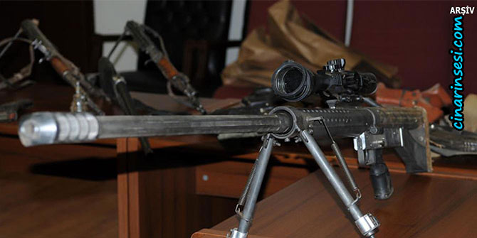Hakkâri'de PKK'ye ait silah ele geçirilirken 3 kişi de öldürüldü