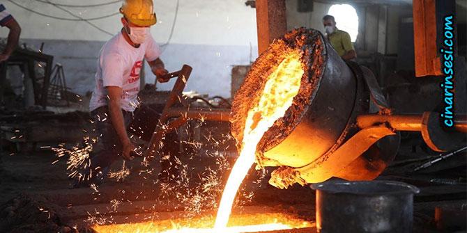 Sanayi üretimi bir önceki aya göre arttı