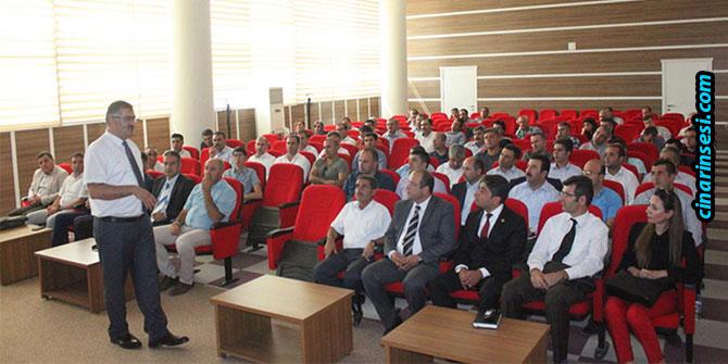 Van'da okul idarecilerine yönelik bilgilendirme toplantısı yapıldı