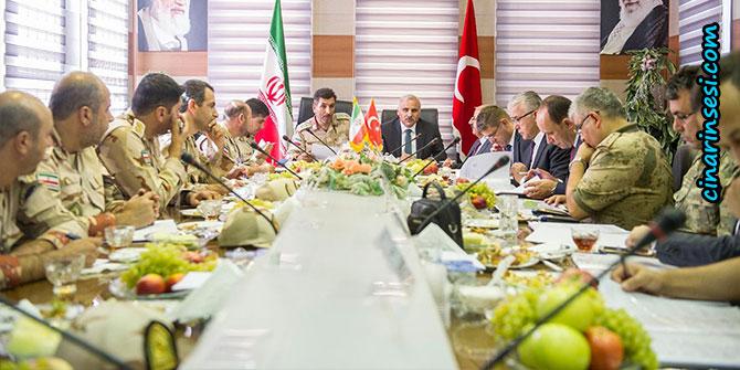 Türkiye ile İran arasındaki hudut görüşmeleri Urumiye'de yapıldı