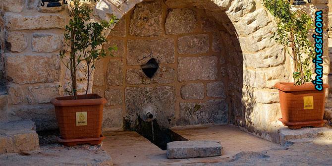 Mardin Artuklu'da tarihi 6 çeşme restore edildi