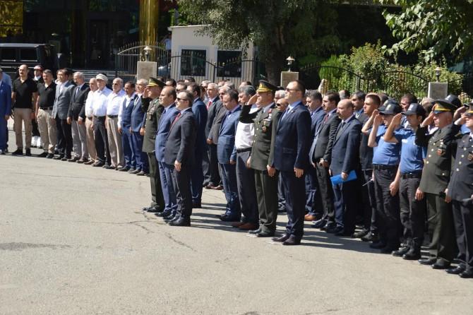Siirt'te Gaziler Günü kutlandı