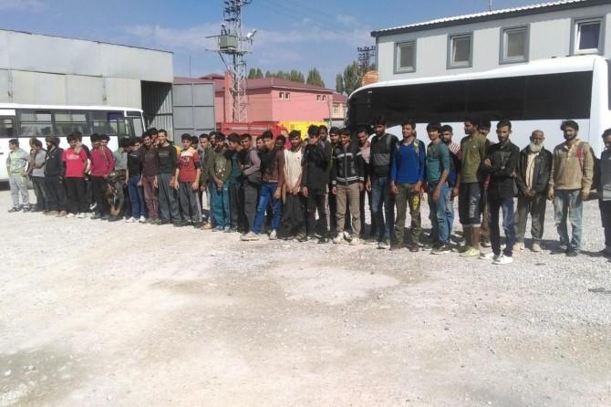 Van'da 48 yabancı uyruklu göçmen yakalandı