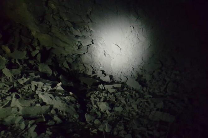 Araziye gizlenmiş yüz kilo patlayıcı imha edildi