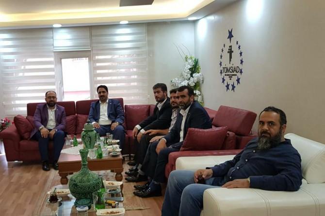 HÜDA PAR Eskişehir İl Başkanlığından TÜMSİAD'a ziyaret