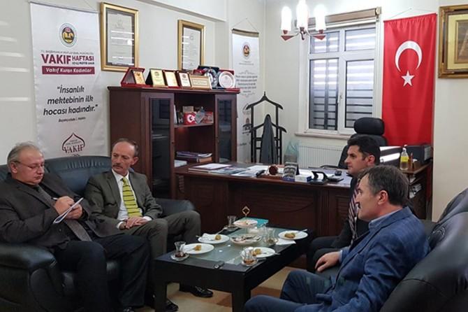 MEB Talim ve Terbiye Kurulu üyeleri Erzurum'da