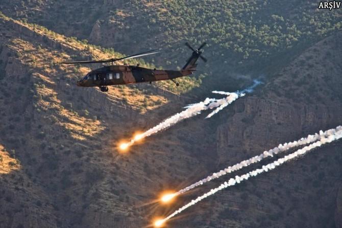 Ağrı'da 6 PKK'li öldürüldü